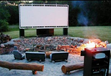 Backyard Theater Ideas Outdoor Home Theater House Ideas