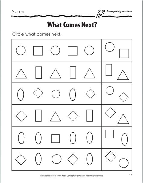 pattern worksheet what comes next number names worksheets 187 what comes next worksheets