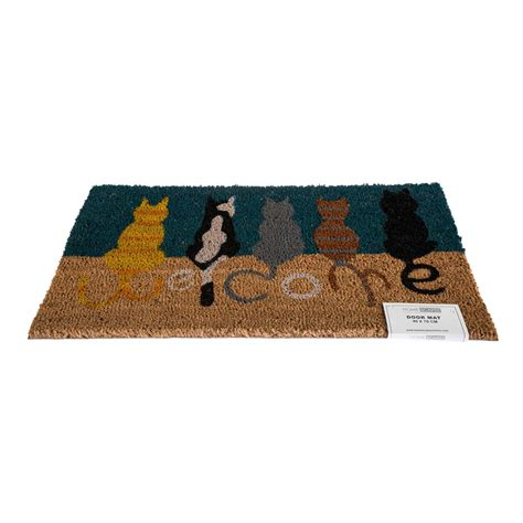 Outside Door Mats Coir by Novelty Coir Door Mat Heavy Duty Indoor Outdoor