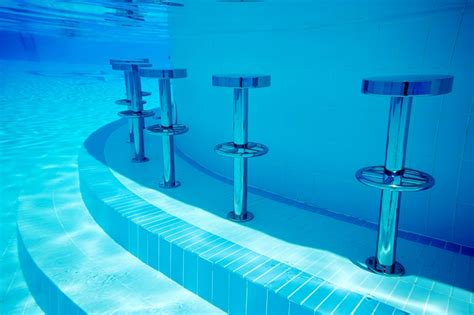 Underwater Swimming Pool Bar Stools stainless steel underwater pool bar stools completehome