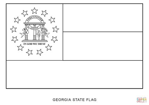 coloring page florida flag coloring pages for free