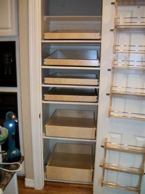 pantry shelves ideas  pinterest kitchen