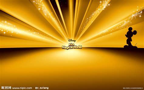 theme line yellow free 迪斯尼 卡通 动画 背景 闪 闪亮 米老鼠 唐老鸭 动漫设计图 动漫人物 动漫动画 设计图库 昵图网nipic com