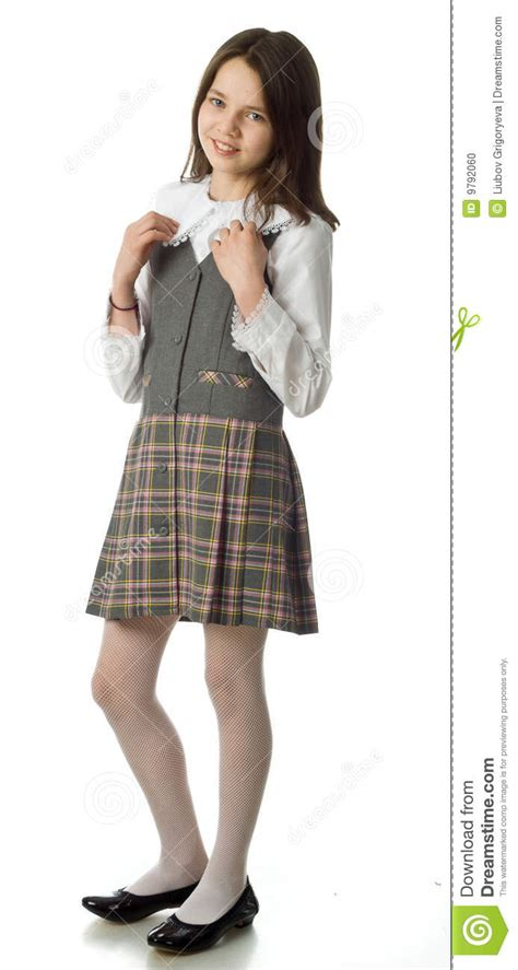 dreamstime high school girls the cherry girl in a school uniform stock photo image