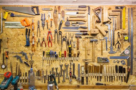 carpentry woodwork  equipment concept work tools