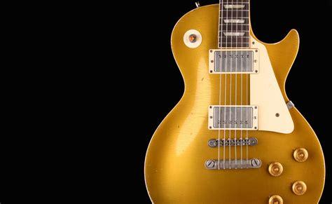 Miniatur Gitar Gibson Les Paul Gold Slash roland les paul gibson les paul gold top 1964