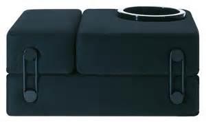chauffeuse convertible trix lit d appoint noir kartell
