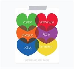 portuguese colors learning portuguese