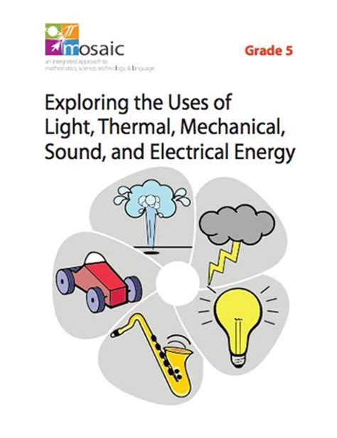 grade light and sound unit 13 best images about energy on grade 2 focus