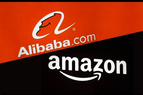 alibaba number by the numbers amazon vs alibaba infographic