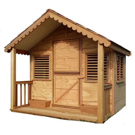 Home Hardware Cottage Kits by Canadian Playhouse Factory 6 Ft X 6 Ft Alexandra