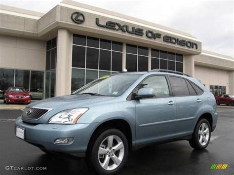 blue lexus rx 2008 breakwater blue metallic lexus rx 350 awd 2294372
