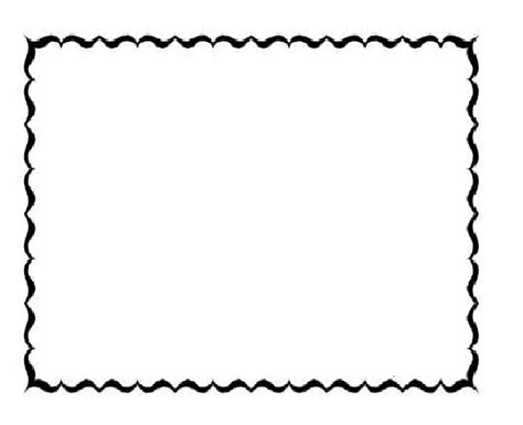 free coloring page borders free printable frames and borders clipart best