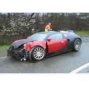 Bugatti Veyron  Le Premier Crash