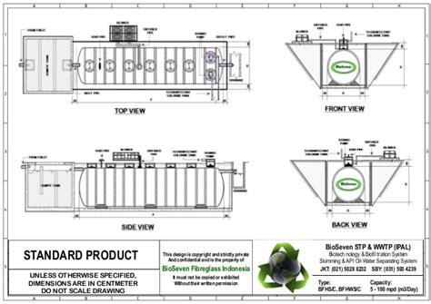 Fiberglass Septic Tank Bio cara pasang bio septic tank biotech ipal bioseven stp wwtp