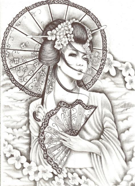 Tattoo Geisha Orientale | geisha tattoo designs half angel demon wings tattoo