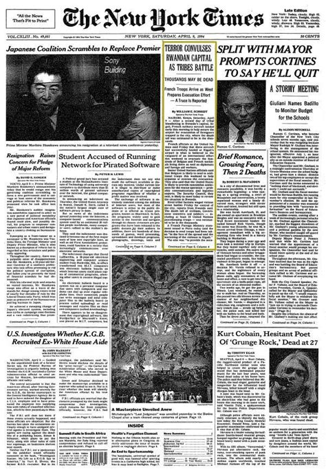 ny times sections on this day april 8 the new york times