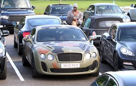 bentley camo mario balotelli wraps 163 160 000 bentley continental gt in