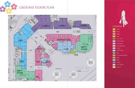 layout of gardens mall gardens galleria noida shopping malls in delhi ncr