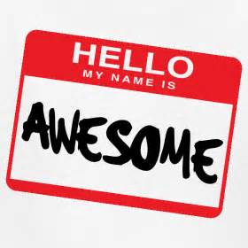 hello my name is awesome albu design
