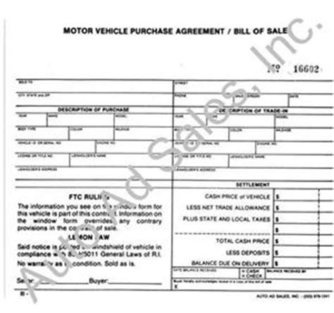 bill of sale template ri vehicle purchase agreement 100 vehicle purchase agreement