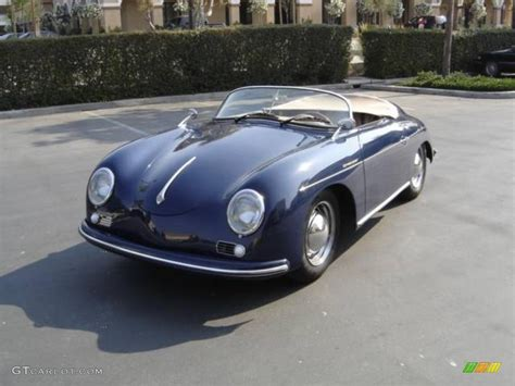 porsche speedster blue 1956 blue porsche 356 speedster recreation 924555