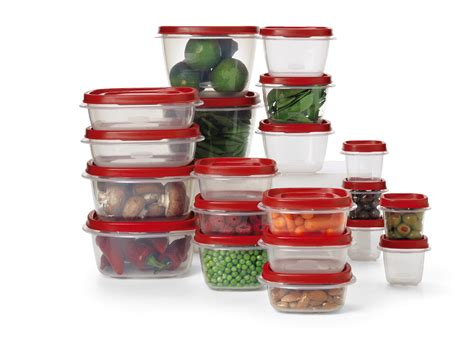 Tupperware Easy Kitchen rubbermaid 40 food storage set