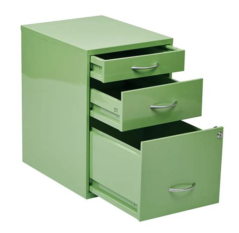 3 drawer letter colorful metal office file storage