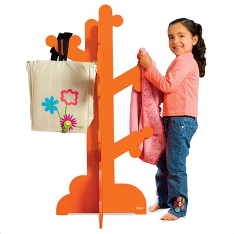 Children S Clothes Rack by Wooden Clothes Rack For From P Kolino