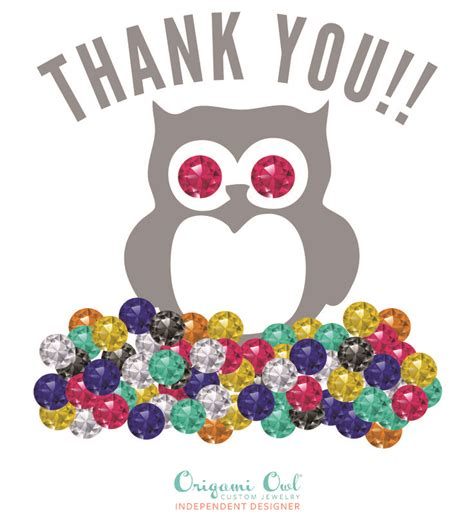 Origami Owl Thank You - 17 best images about for my customers on shops