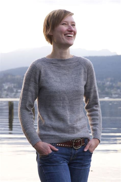 knit sweater pattern top down top down seamless sweater free pattern on tin can knits
