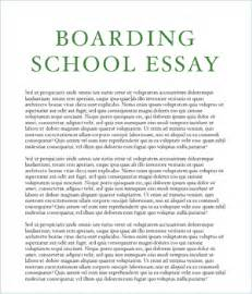 school essay boarding school essays a bit of advice boarding school