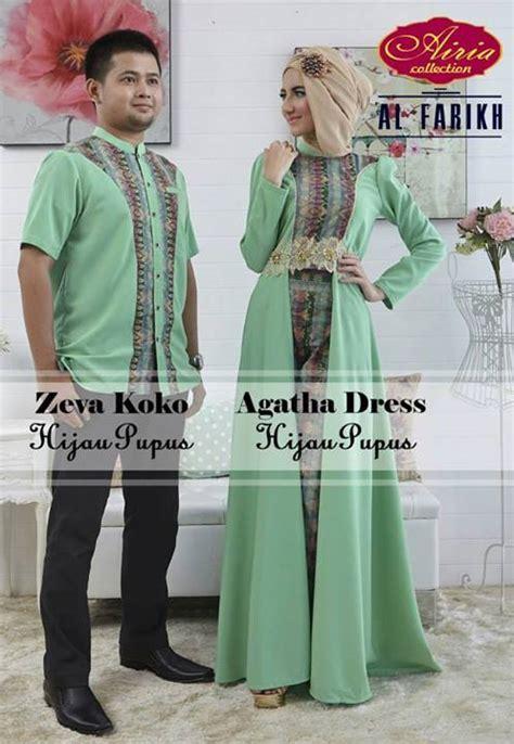 Gamis Syar I Hijau Pupus agatha hijau pupus baju muslim gamis modern