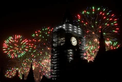 new year celebrations in photos fireworks and celebrations around the world