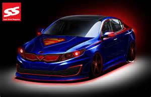 Car Accessories For Girls Interior Introducing The Superman Inspired Kia Optima Hybrid Photo
