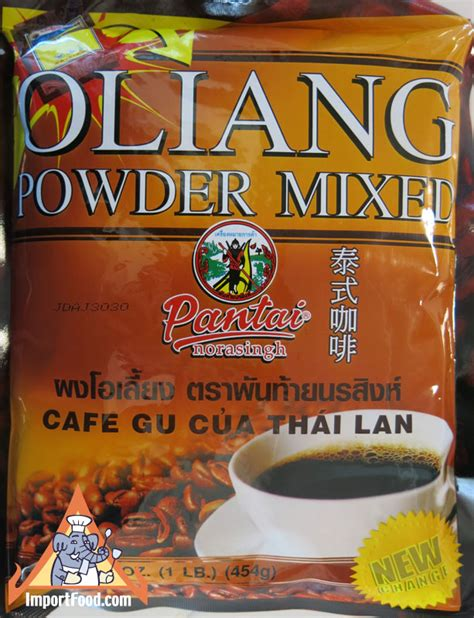 Thai Mixed Coffee By Lason thai coffee oleang available from importfood