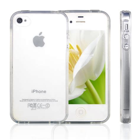 Silicon Ultrathin Ultra Thin Iphone 4 Iphone4 4s 4g funda silicona transparente ultra slim iphone 4 4s gt iphone accesorios gt apple gt iphone 4 accesorios