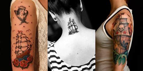 tattoo old school amicizia 30 tatuaggi con i velieri e i loro significati