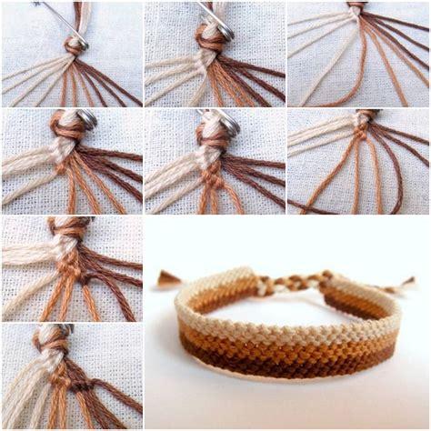 diy tutorial how to make easy weave bracelet step by step diy tutorial craft