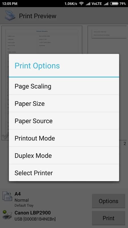 printing from android the simplest way to print from android phone or tablet by using otg