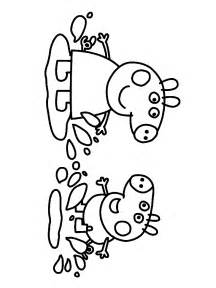 peppa pig colouring az coloring pages