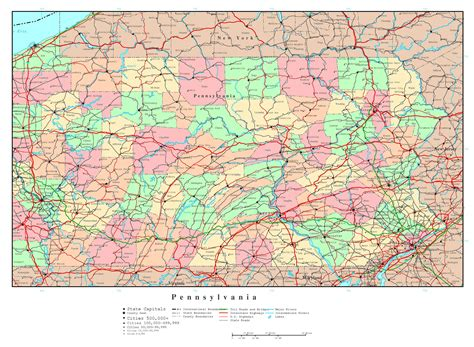 usa map with states and cities roads large us map with major highways images