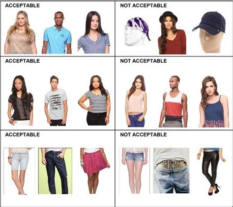 middle school girls dress code education scholar middle class dress codes are white