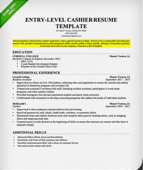 Resume Objective College Student how to write a career objective on a resume resume genius