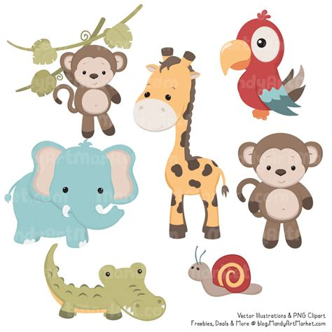 safari animals clip safar animals clipart clipground