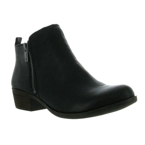 lucky brand basel ankle boots