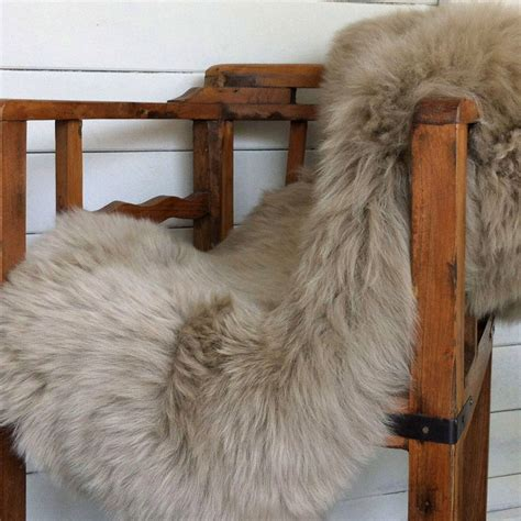 sheeps skin rug taupe sheepskin rug meze