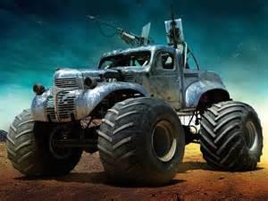 Mad max fury road custom monster truck no car no fun muscle cars