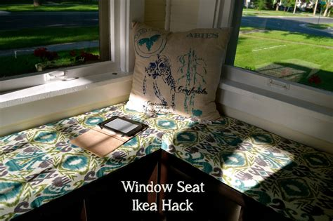 window seat ikea hack our house in the middle of our street window seat ikea hack