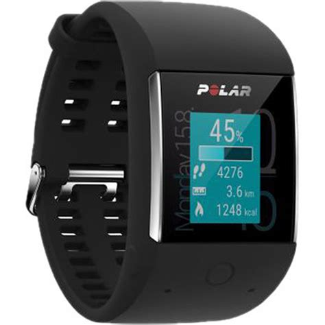 Polar M600 Polar M600 Smartwatch Black 90063087 B H Photo
